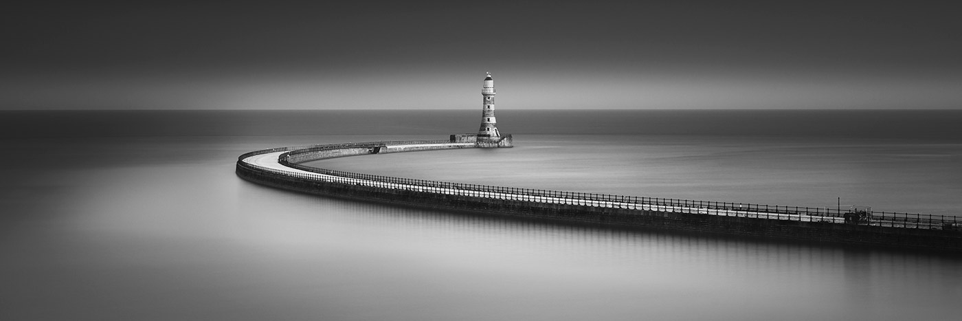 Simon's 'Highly Commended' panoramic photograph of Roker Pier, © Simon Auchterlonie